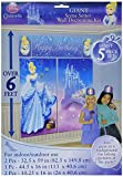Amscan Disney Cinderella Birthday Party Scene Setters (5 Pack), Blue. Others Supplies , 60 Pieces