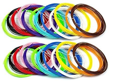 3d pen filamento refills-480 lineal feet-1.75 mm ABS-100 ...