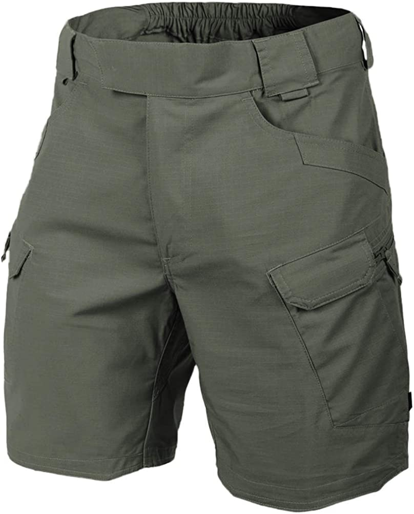 "Helikon Men's Urban Tactical Shorts 8.5"" Olive Drab"