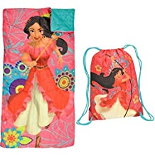Disney Elena of Avalor Sleeping Bag and Sling Bag Sleepover Slumber Set