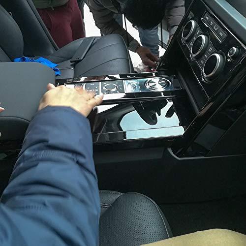 4 Pcs Set DGWV2-775 Outside Mount Deflector Rain Guard Dark Smoke Tuningpros Window Visor Compatible With 2013-2016 Audi Q3