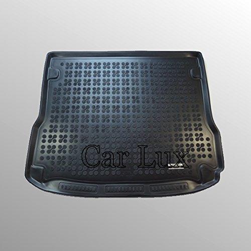 Car Lux AR01850- Alfombra Cubeta Protector Maletero PREMIUM Goma para Q5