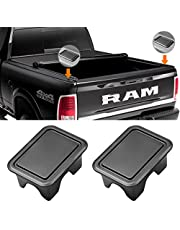 MoonlinksRam 1500 StakePocketCovers, Rear Truck Bed Rail Stake Pocket Cover Compatible withDodge Ram 2019 2020 2021(Set of 2)