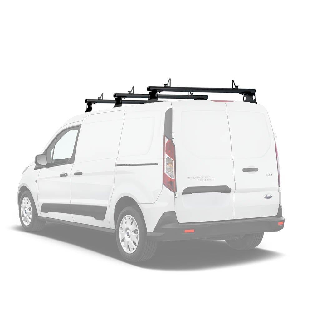 aa-racksモデルax302 Transit Connect 2014-newerアルミvan屋根ラックシステムwith Ladder Stopper 1 Bar-50