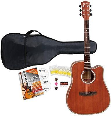 Rocktile wsdn de 410S Guitarra Western (Dreadnought, Cutaway ...