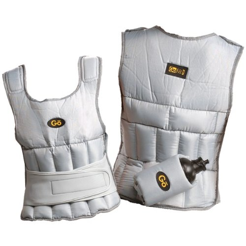 Reebok Adjustable Weighted Vest, 10-Pound