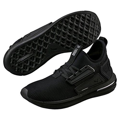 Puma IGNITE Limitless SR–Sneaker Uomo Scarpe da tempo libero–190482–01NERO, taglia: 48.5