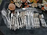 Oneida 18/8 USA Community Flatware SILVERPLATE BRAHMS 59pcs Set Lot EXCELLENT