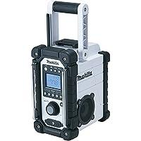 Makita XRM02W 18V Compact Lithium-Ion Cordless Job Site Radio, Tool Only