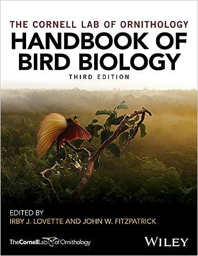 amazon com handbook of bird biology cornell lab of ornithology
