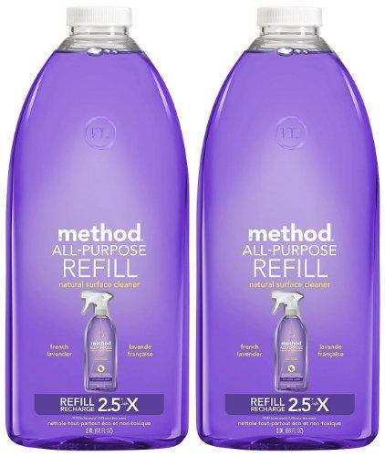 Method All Purpose Cleaner Refill, French Lavender - 2 pk.