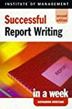 img - for Report Writing (Successful business in a week) book / textbook / text book