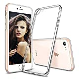 iPhone 8 Case, iPhone 7 Case, GANJOY Apple iPhone 7/8 Case Shock-Absorption Bumper and Anti-Scratch Clear Back for iPhone 7, iPhone 8 - Clear