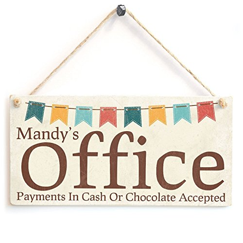 Mandy's Office Wood Sign By meijiafei