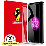 Lipizzaner [For Black Color Device Only] iPhone 8 Screen Protector [2 Pack] [Tempered Glass] iPhone 7 Screen Protector [Case Friendly] iPhone 6s Screen Protector [HD Clarity] iPhone 6 Screen Protector