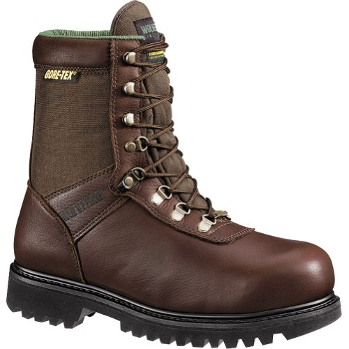 Insulated Brown Steel Toe Boot Horn Big Wolverine Waterproof Hunting 8