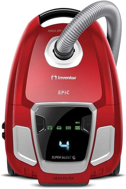 Inventor Epic BG62 5+, Aspirador con Bolsa de 3.5L, Super ...