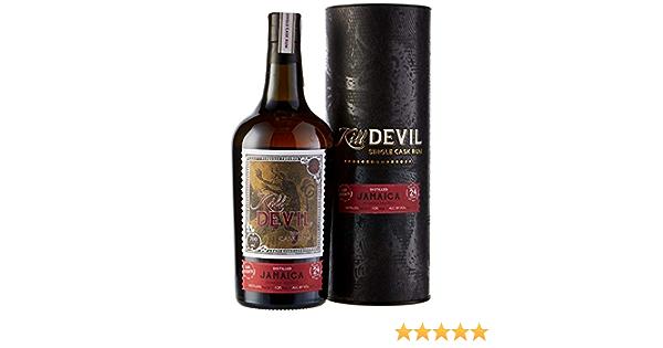 Kill Devil 24 Años de Edad Hampden Solo Barril Ron en Caja de Regalo - 700 ml