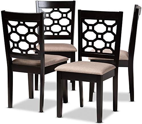 Baxton Studio Set of 4 171-10950-AMZ Dining Chair