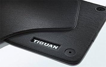 Original Volkswagen Vw Ersatzteile Tiguan Original Premium Velours Fußmatten Vorn Hinten Auto