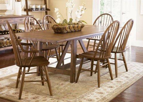 Liberty Furniture Farmhouse Trestle Table 139-T4002