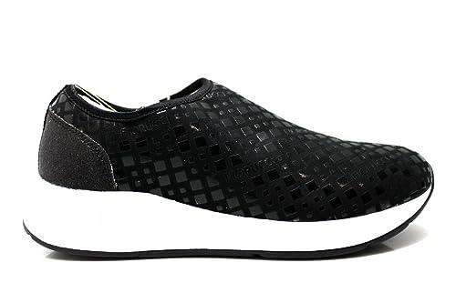 watch b3716 7dd05 Fiorucci FDAB007 Nero Sneakers Donna Calzature Comode Woman ...