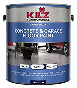 Amazon Com Kilz 1 Part Epoxy Acrylic Interior Exterior