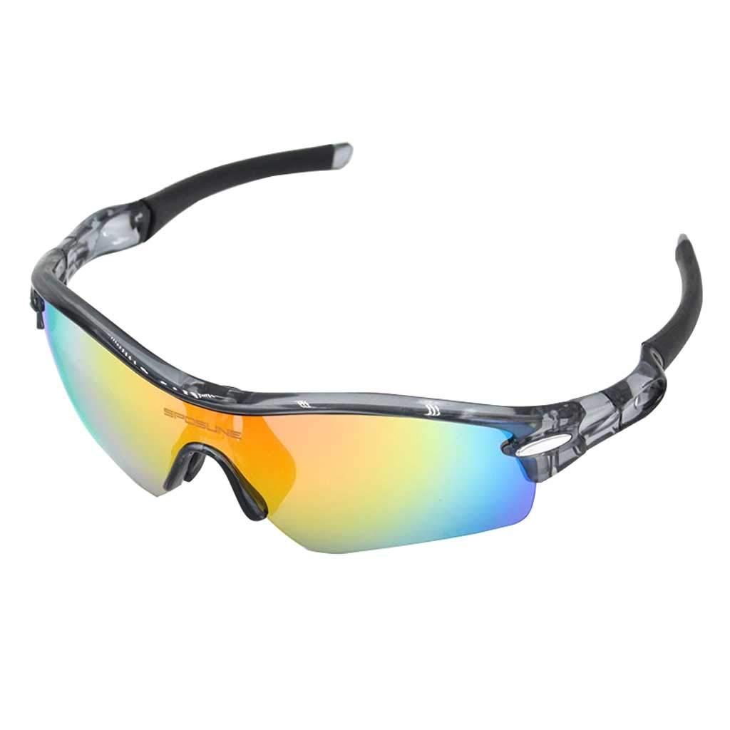 Unbekannt Outdoor Sports Radfahren Brille, Erwachsene UV-Schutz Wind und Sandproof Schutzbrillen