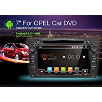 Android 6.0 Quad Core 7 GPS Car DVD Player For Opel Astra Vectra Zafira Antara Corsa Radio Navigation Stereo Audio and Video Free Camera &Canbus Color Black