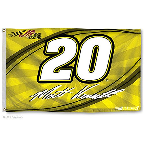 Matt Kenseth One-Sided Flag with Number 60 x 36in
