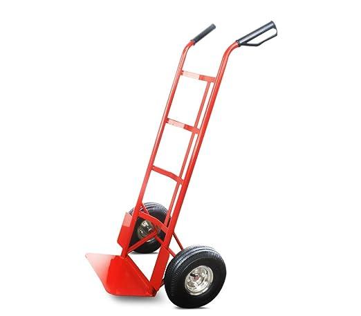 capacit/é de charge 150 kg Rouge Diable en acier roues pneumatiques