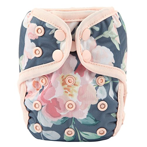 Sigzagor Newborn Baby Diaper Nappy Cover 8lbs-10lbs (Floral)