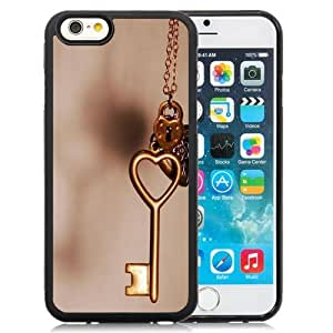 New Personalized Custom Designed For iPhone 6 4.7 Inch TPU Phone Case For Copper Love Heart Key Phone Case Cover wangjiang maoyi