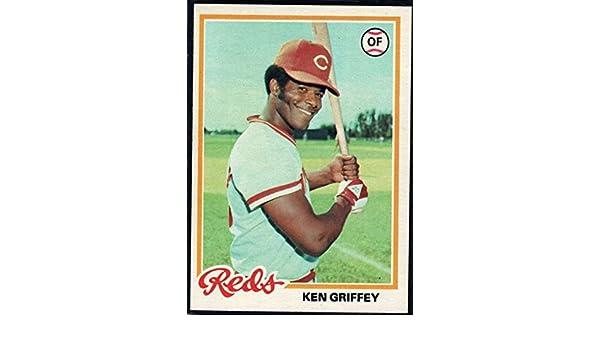 a060aba262 Amazon.com: Baseball MLB 1978 Topps #80 Ken Griffey Sr. Reds: Collectibles  & Fine Art