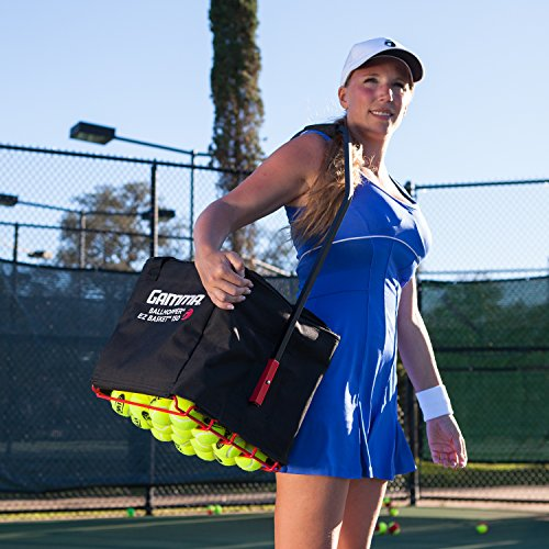 Gamma Sports Premium Tennis Teaching and Travel Baskets - Unique Sports Equipment, EZ Travel Ball Carriers, Portable Designs, Ideal Training Court Accessories