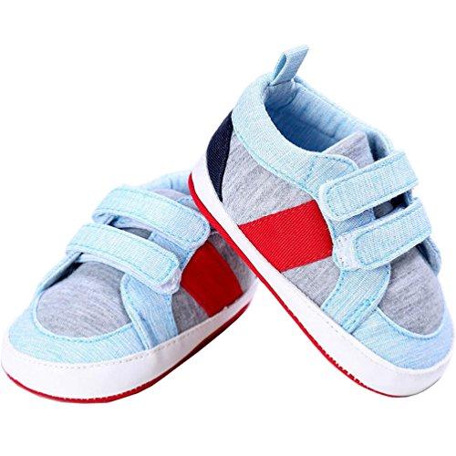 Morrivoe bebé niños niñas zapatillas de deporte al aire libre niños primer caminantes suela blanda cuna zapatos