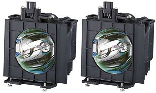 Panasonic PT-D4000 LCD Projector Lamp OEM Compatible 2 Projector bulbs