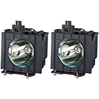 Panasonic PT-D4000U Projector Lamp OEM Compatible Twin-Pack Bulbs