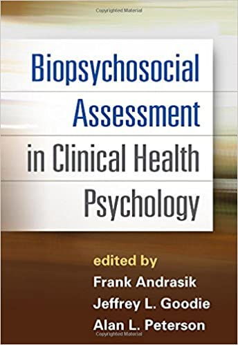 Biopsychosocial assessment in clinical health psychology biopsychosocial assessment in clinical health psychology 9781462517732 medicine health science books amazon fandeluxe Gallery