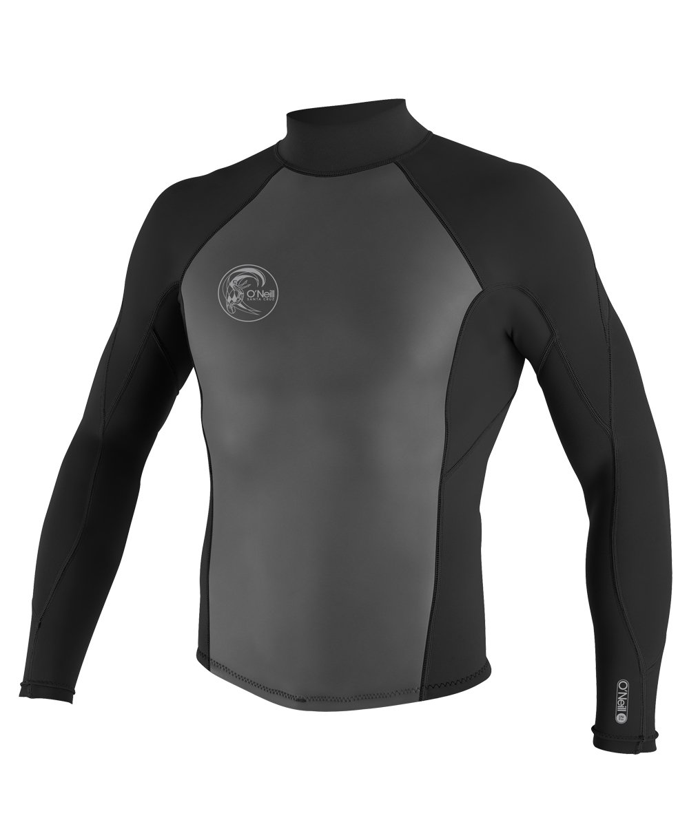 O'Neill  Men's O'Riginal 2/1mm Back Zip Jacket, Black,Large by O'Neill Wetsuits