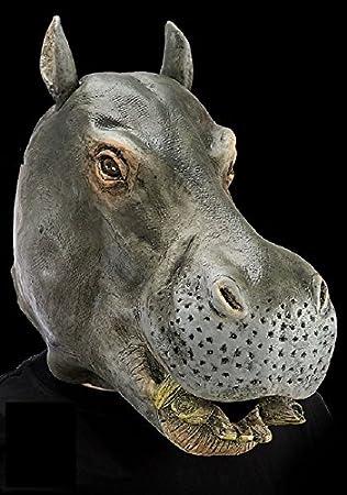 Masque Dhippopotame Adulte Taille Unique Halloween Latex