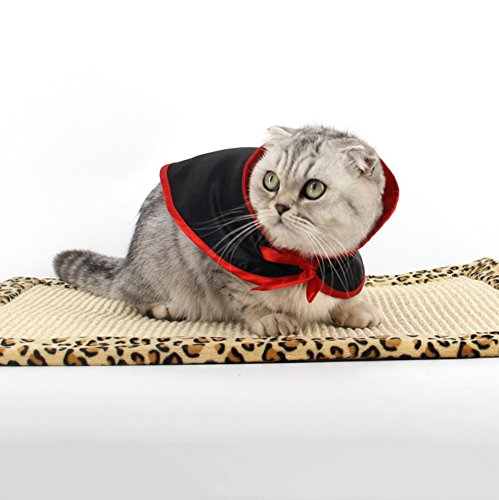 KAYI Pet Cat Cloak Mantle Cosplay Special Funny Smock for Kitten Cat Dog Holiday Costume
