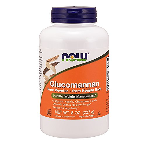NOW Glucomannan Pure Powder, 8 Ounce by NOW Foods