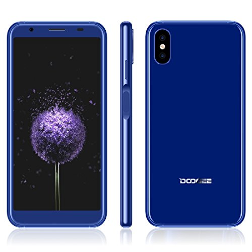 DOOGEE X55 1GB+16GB 5.5 inch Android 7.1 MTK6580 Quad Core up to 1.3GHz GSM & WCDMA (Blue) by DOOGEE