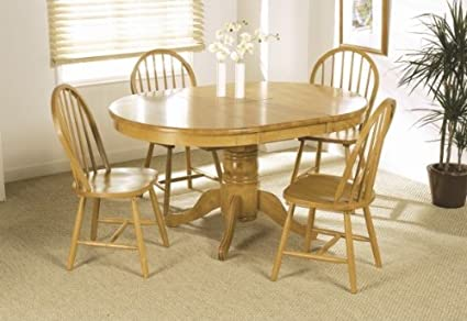 Awe Inspiring Malvern Pine Round Extending Dining Table And Windsor Chairs Short Links Chair Design For Home Short Linksinfo