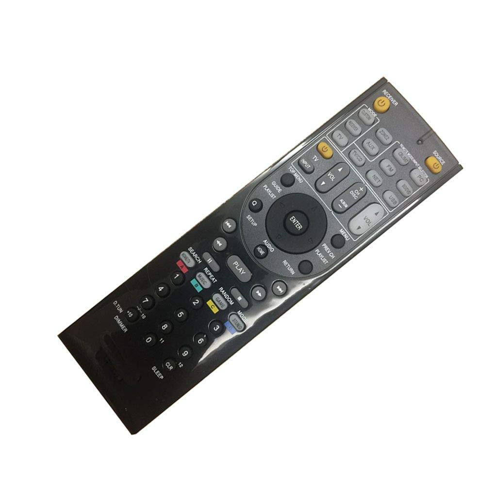 Easy Replacment Remote Control Suitable for Onkyo HT-R791 TX-NR1007 TX-NR3007 TX-NR636 HT-S3300 AV A//V Receiver System