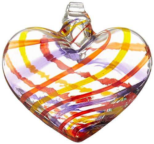 - Kitras 3-Inch Heart Celebration, Hooray