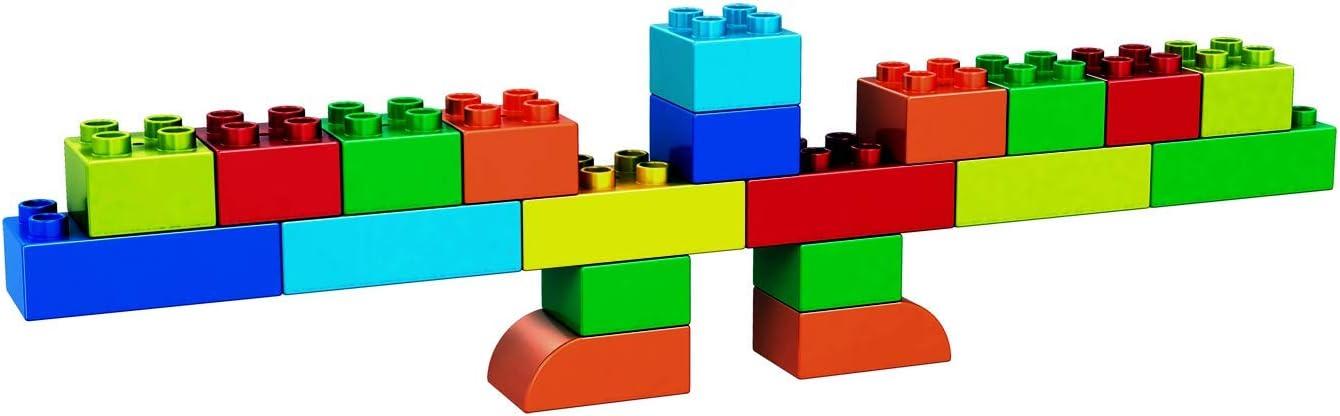 Building Block Bricks - Build Your Own Chanukah Menorah - Compatible with All Major Brands - Assembly Set Kids & Parents Hanukkah & Events at Hebrew School - Multicolor, 20 Pieces