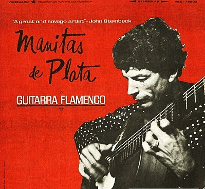 Guitarra Flamenco (John Steinbeck Quote LP Cover) by Vanguard