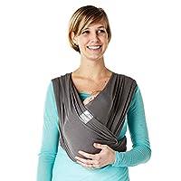 Baby K'tan Breeze Baby Carrier, Charcoal, Medium